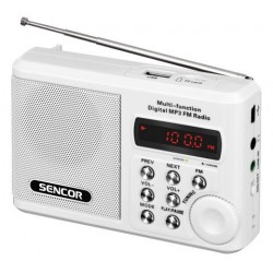 FAST-RADIO KIESZONKOWE Z MP3 SRD 215 W