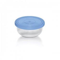 BRANQ-POJEMNIK OKRĄGŁY *BLUE BOX* 0,4L 3230