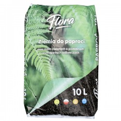 FLORA-ZIEMIA DO PAPROCI 10 L