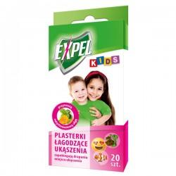 BROS-20 PLASTERKÓW ŁAGODZĄCYCH UKĄSZENIA *EXPEL KIDS*