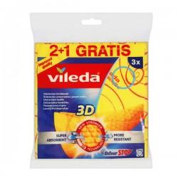 VIL-3 ŚCIERKI UNIWERSALNE 3D  2+1 144826