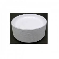 TALERZ JEDNORAZOWY PLASTIK DESER 17CM /100/